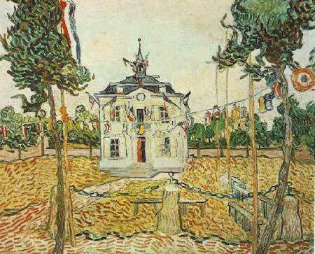 la-mairie-d-auvers-sur-oise-le-14-juillet-1890